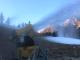 Prali: i cannoni hanno iniziato a produrre neve programmata ma l'apertura è ancora lontana