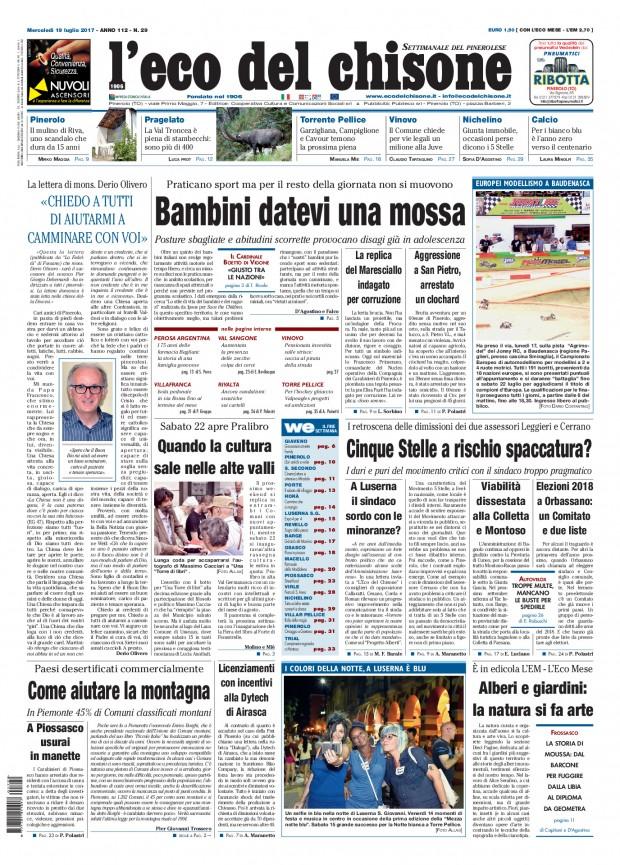 Edizione 29 del 19/07/2017