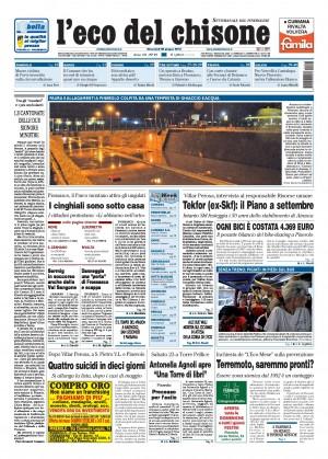Edizione 25 del 20/06/2012