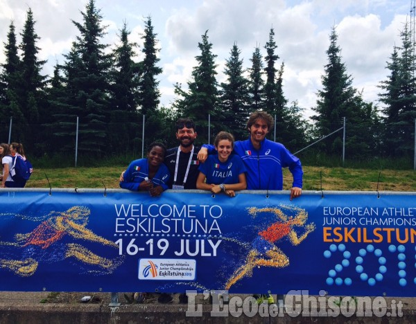Atletica, Agnese Mulatero e Brayan Lopez agli Europei