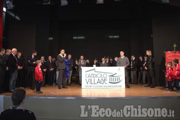 """Candiolo: inaugurazione """"Candiolo Village"""""""