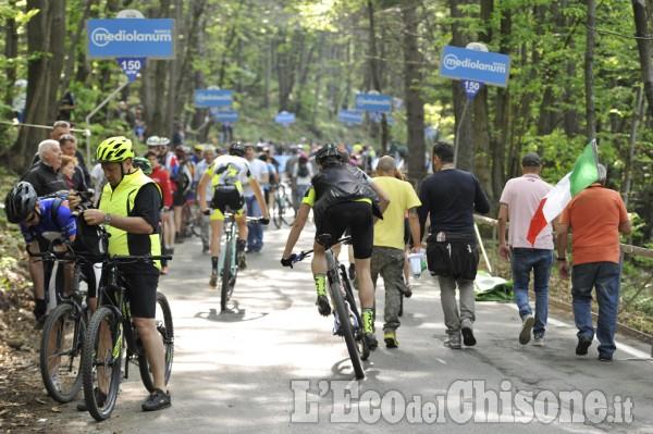 Giro d'Italia 2016: passaggio a Prà Martino