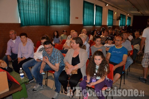 Cumiana Premiazione concorso scuole L'eco del Chisone