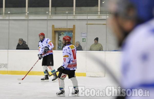 Hockey serie C Pinerolo-Real Torino 1-6