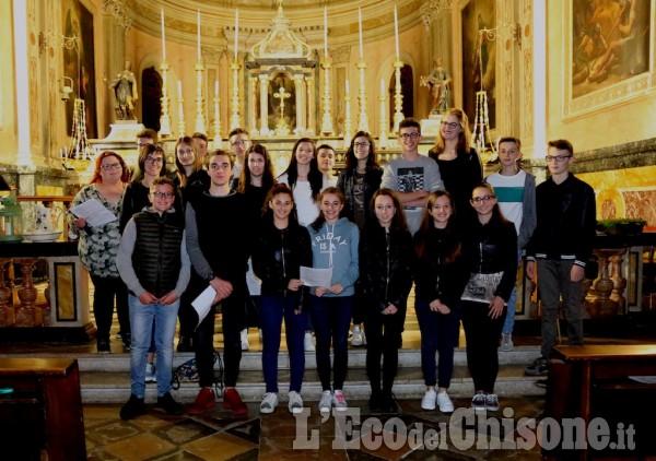 La via Crucis a Castagnole