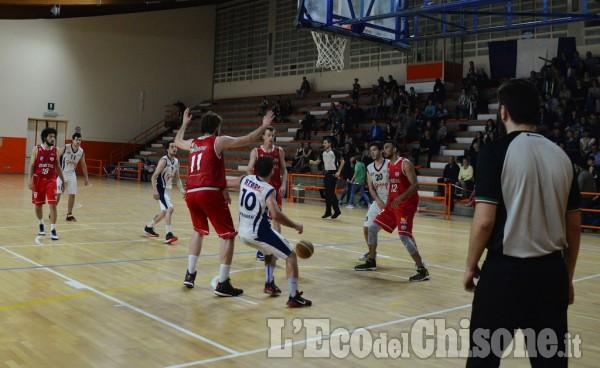 Basket serie C Silver: Galup Pinerolo-Fortitudo Alessandria