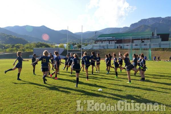 Cantalupa: Under 18 di Rugby in allenamento