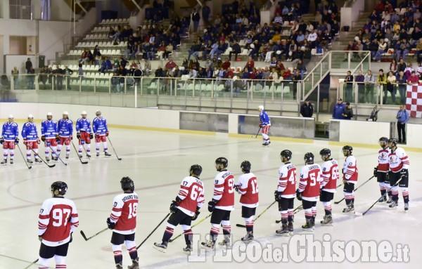 Hockey ghiaccio: amichevole Valpeagles-Como