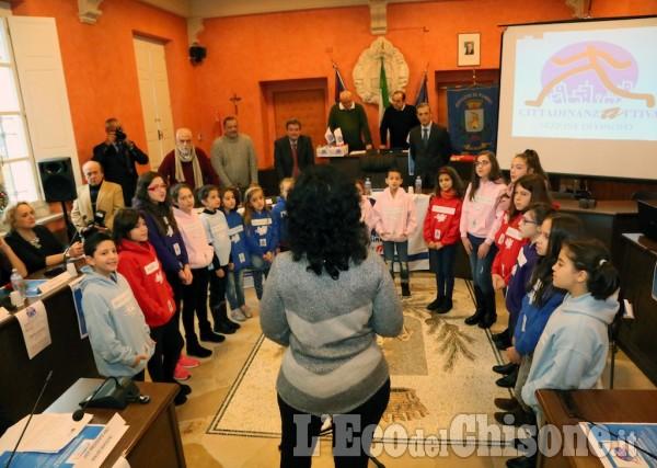 Vinovo: L'inaugurazuìione dello sportello di Cittadinanza
