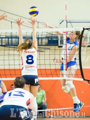 Volley B1 femminile: vince ancora L'Eurospin di Moglio, la vetta ad un passo