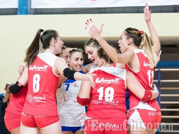 Volley: Il Pinerolo di B1 vince a Bergamo al Tie-Break