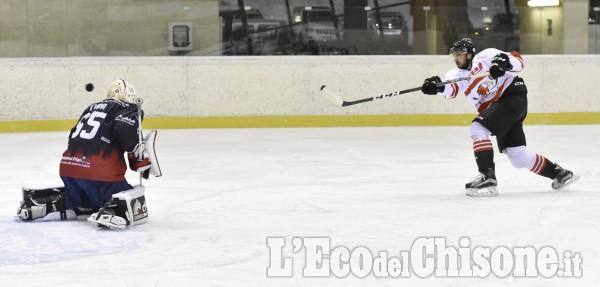 Hockey ghiaccio: amichevole Valpeagle-Milano
