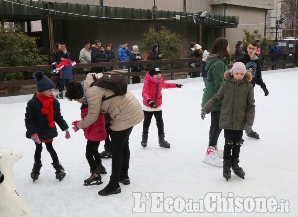 Vinovo: tutti a pattinare nella zona pedonale