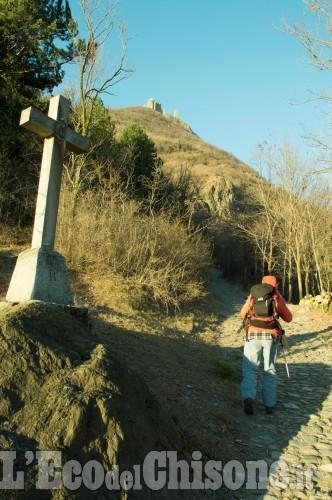 Scarpinando zaino in spalla: L'Abbazia a un passo dal cielo