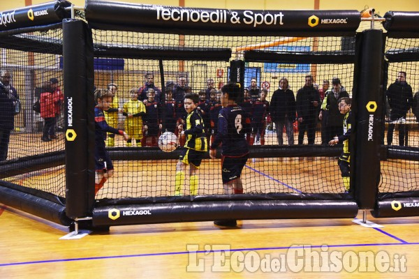 Porte, ecco Hexagol, gabbia per allenamenti calcistici con Davide Nicola