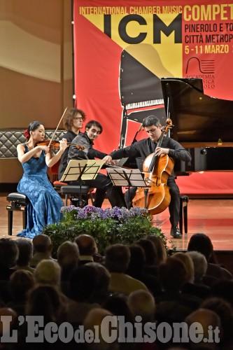 Pinerolo, Concorso internazionale di musica da Camera: la serata conclusiva