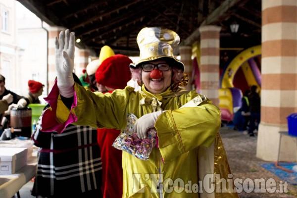 Carnevale dei bambini  a Villafranca.