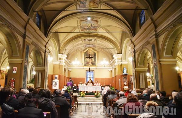 Riva di Pinerolo, nuovo parroco don Michele
