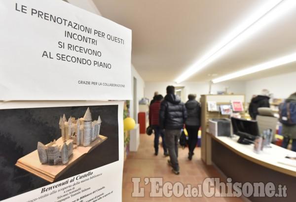 Castelli di libri a Rivalta, Piobesi e Vinovo