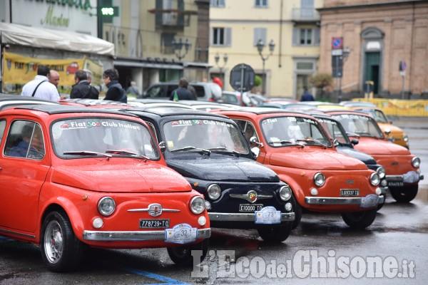 Pinerolo raduno delle auto 500
