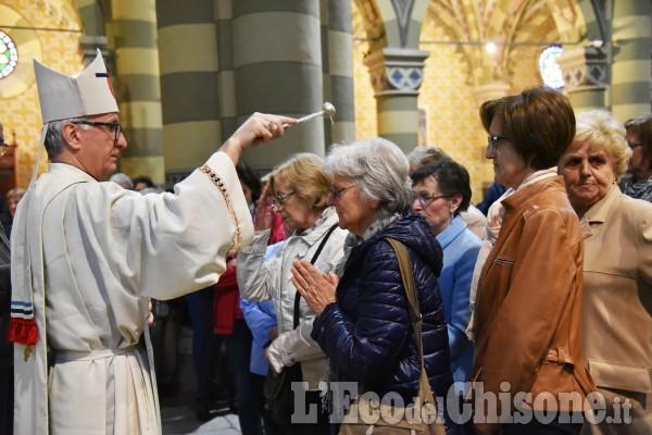 Pinerolo: S. Maurizio benedizione per la festa della mamma