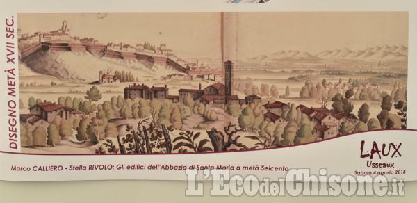 """L'antica Abbazia di Santa Maria di Pinerolo ricostruita a """"Cattolici e valdesi"""""""