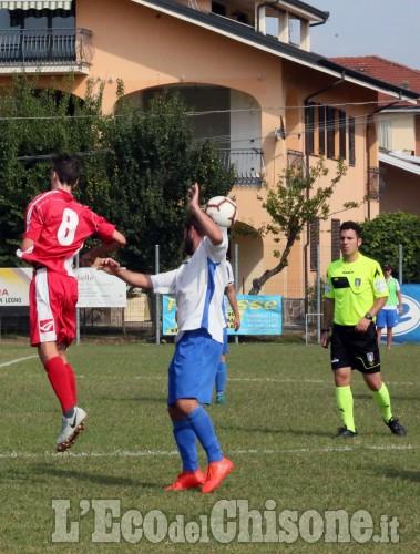 Calcio Prima categoria: Vigone all'inglese