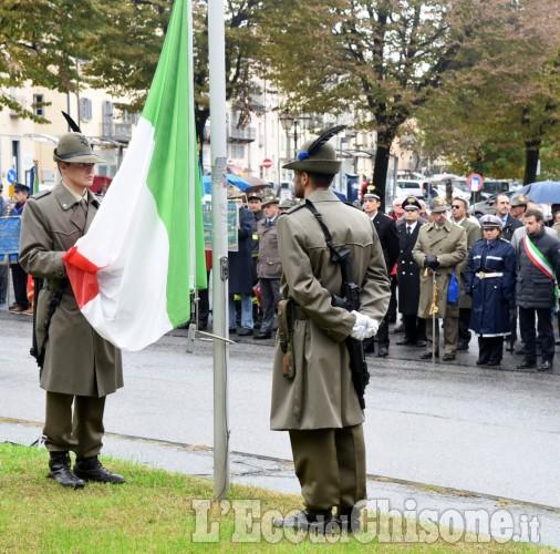 Pinerolo, le celebrazioni del 4 novembre