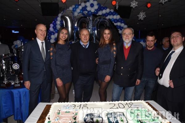 I 100 anni del Pinerolo Fc sono stati festeggiati