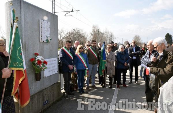 Pinerolo: L'Anpi Commemora i fucilati di Ponte Chisone
