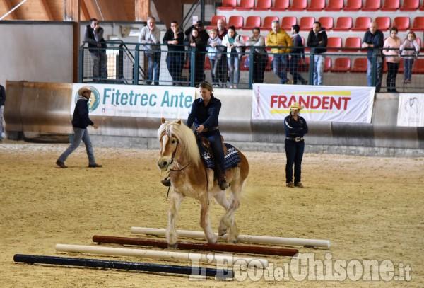 Pinerolo, la prima volta della monta western