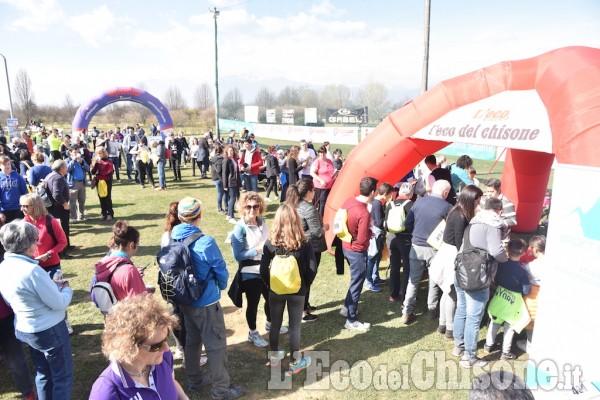 Pinerolo, in più di 600 alla Lions Walk