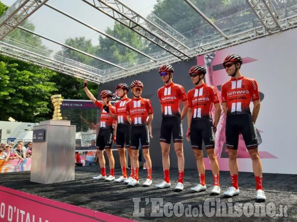 Giro d'Italia 2019, tappa 13 Pinerolo-Ceresole: le squadre alla partenza