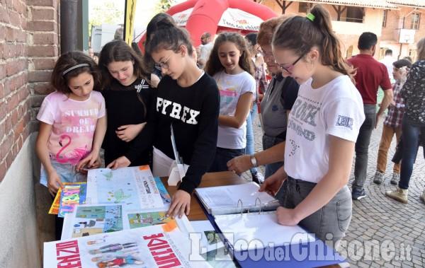 """Cumiana : Concorso """" Le scuole ci scrivono"""""""