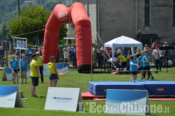 Mini Olimpiadi di valle a Pinasca: immagini dalla prima giornata di gare