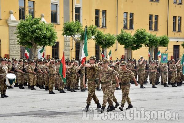 Pinerolo :Cerimonia per il rinnovo del Drappo della Bandiera e Festa del 3°Alpini