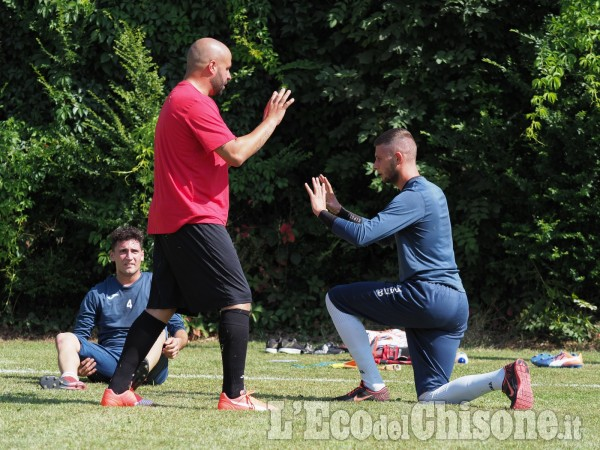 Calcio: il primo allenamento del Pinerolo