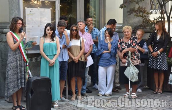 Pinerolo non dimentica il tragico crollo di Genova