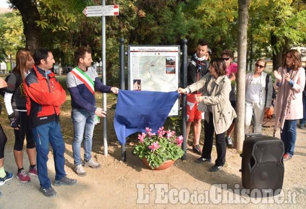 """Pinerolo: inaugurazione del sentiero """"Verso Canada"""""""