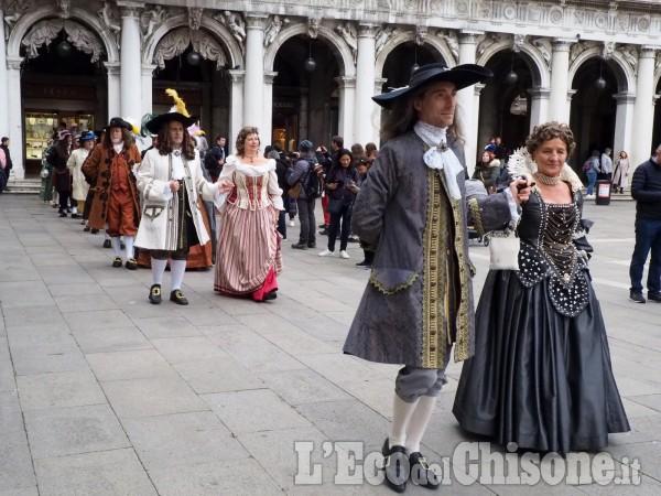 La Maschera di Ferro in piazza S. Marco a Venezia