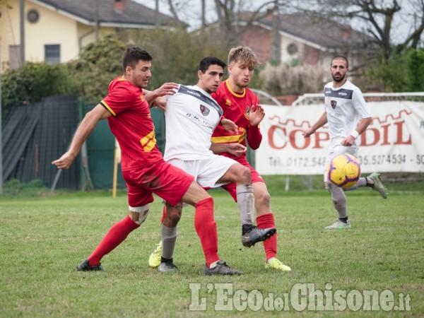 Calcio: Pancalieri e Cavour si dividono la posta nel derby
