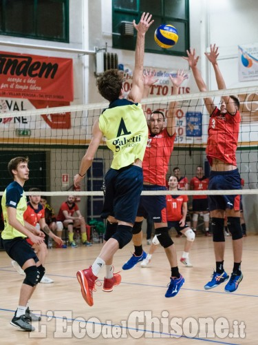 Volley C maschile, a Villar Valchisone vince il tie-break