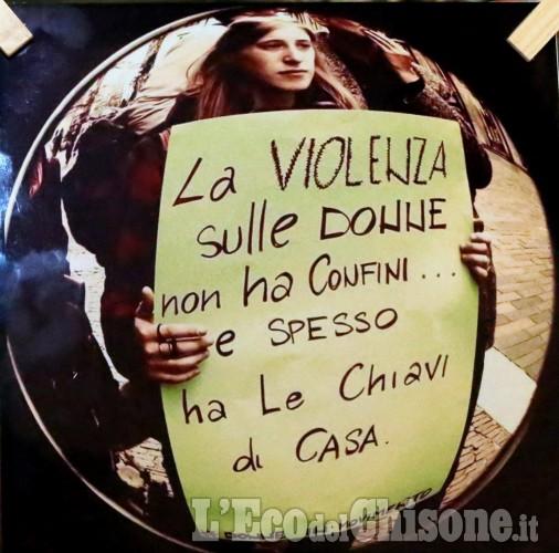 No alla violenza contro le donne a Vinovo, None e Castagnole