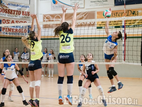 Volley serie D donne: Val Chisone esulta