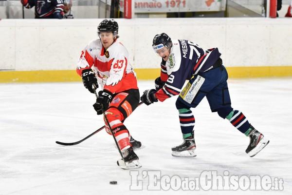 Hockey ghiaccio, la voglia di vincere della Valpeagle contro Bressanone
