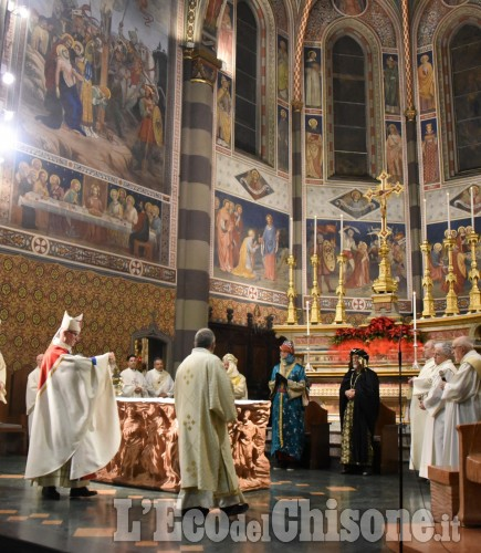Pinerolo: In Duomo Messa per la pace e dei popoli