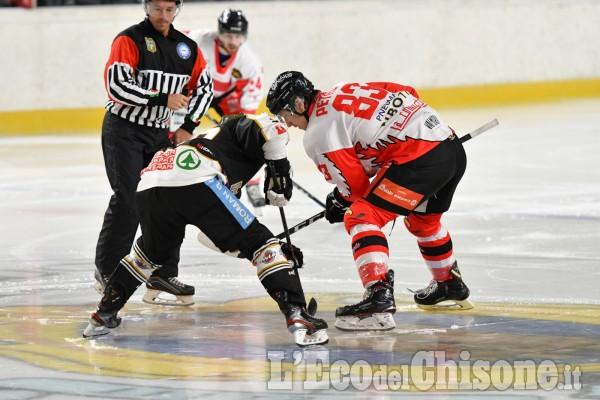 """Hockey ghiaccio Ihl, immagini dal """"Cotta"""", c'è Valpeagle-Merano"""