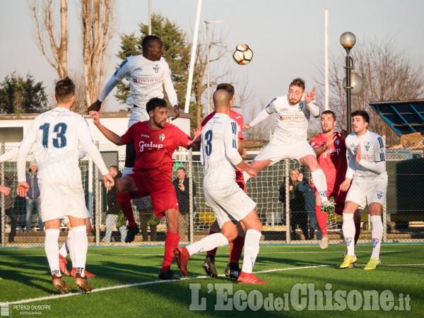 Calcio Eccellenza: Chisola batte Pinerolo, a Vinovo l'incubo della Coppa si rinnova