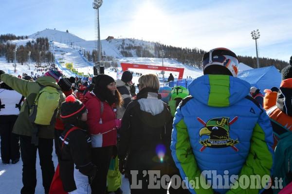 Sci alpino grandi emozioni al Colle con Brignone al top di manche