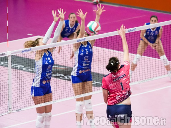 Volley A2 donne, a Pinerolo vincono le friulane